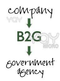 Şekil 1.4. B2G (Business to Government) logo.