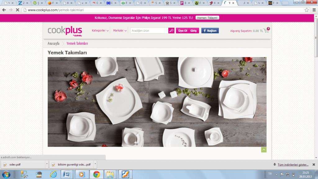 Şekil 2.32.www.cookplus.com ürün sayfası.